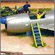 Детский самолет (ракета КС-1 на детской площадке)