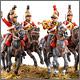 Британские гвардейские драгуны, 1815 г.