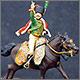 Офицер гвардейских конных егерей армии Наполеона