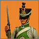 Фузилер 3-го линейного полка, Франция, 1807 год
