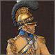 Офицер полка «Guadre du Coeur», Саксония, 1810-13 гг.