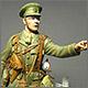 Капитан Королевских фузилеров британской армии
