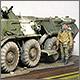 БТР-80 в Чечне
