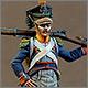 Вольтижер 8-го пехотного полка, Польша