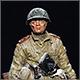Старший сержант пехоты Красной армии, 1943-45 гг.