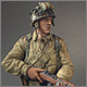 Американский десантник, Нормандия, 1944