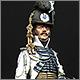 Офицер конной лейб-гвардии. Швеция, 1807