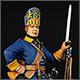 Шведский гренадер полка Меллина