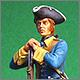 Шведский мушкетер, Северная война.