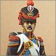Барабанщик гренадерской роты 57-го линейного полка. Франция, 1809-12 гг.