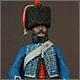 Французский гусар элитной роты 8-го полка, 1808