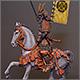 Конный самурай клана Ода, XVI-XVII вв.