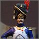 Французский офицер пеших гренадеров Гвардии. 1809
