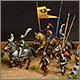 Средневековые солдаты на марше