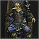 Ярл на троне в стиле Skyrim
