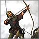 Английский лучник. Битва при Азенкуре, 1415 г.