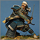 Сражающийся самурай