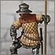 Солдат гарнизона стражи, Англия, 15 век.