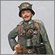 Лейтенант пехотного полка. Германия, 1918 г.