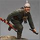 Немецкий пехотинец. Первая Мировая Война