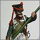 Бомбардир 12-й лёгкой роты 7-й артиллерийской бригады, 1812