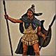 Фракийский пельтаст, V век до н.э.