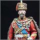 Николай II в форме Лейб-Гвардии Гусарского полка, 1907 г.