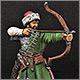 Русский лучник, XIV век