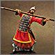 Древнекитайский воин, 5 в. до н.э.