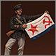 Старшина 1-й статьи ОБМП ВВФл, Сталинград, 1942 г.