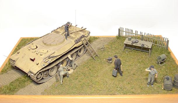 Диорамы и виньетки: Panzermechanikers