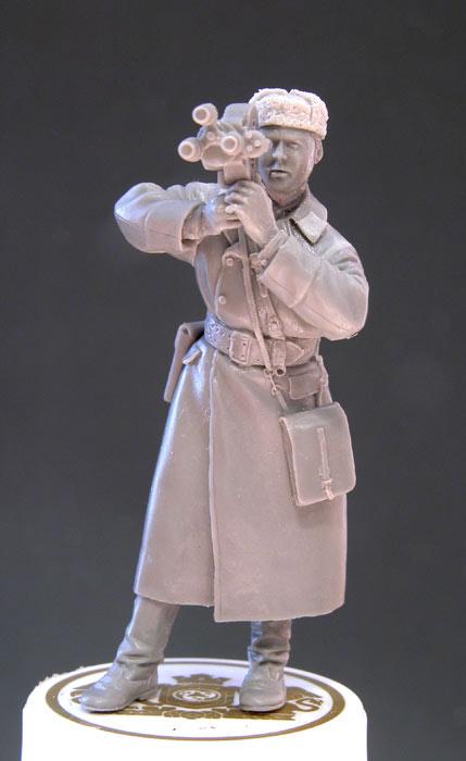 Фигурки: Советский военный кинооператор, 1943-45, фото #4