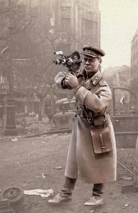 Фигурки: Советский военный кинооператор, 1943-45, фото #7