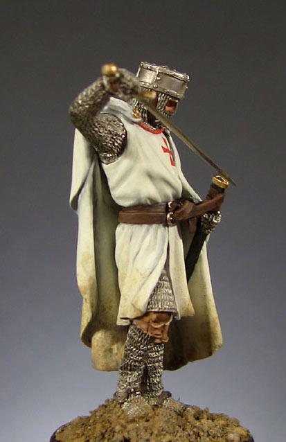 Фигурки: Рыцарь ордена тамплиеров., фото #1