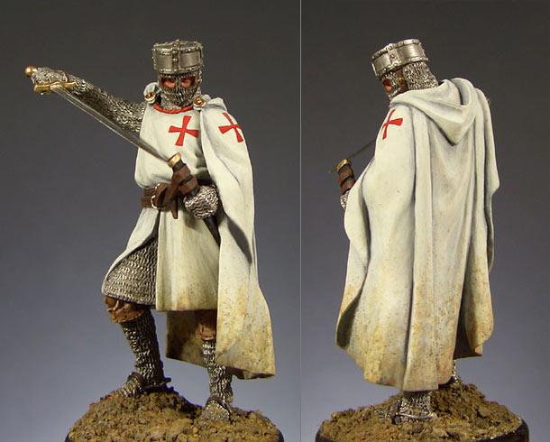 Фигурки: Рыцарь ордена тамплиеров.