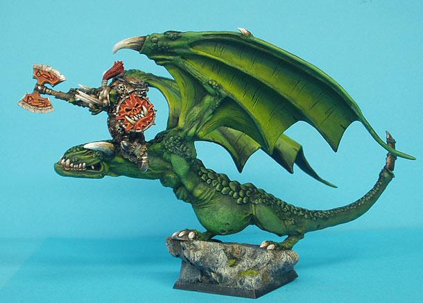 Разное: Орк на драконе