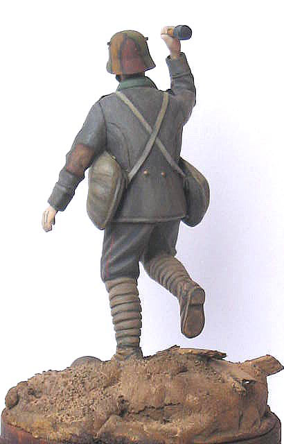 Фигурки: Германский гранатометчик, 1916-17гг., фото #4