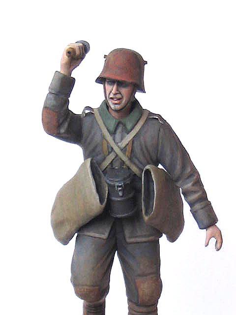 Фигурки: Германский гранатометчик, 1916-17гг., фото #5