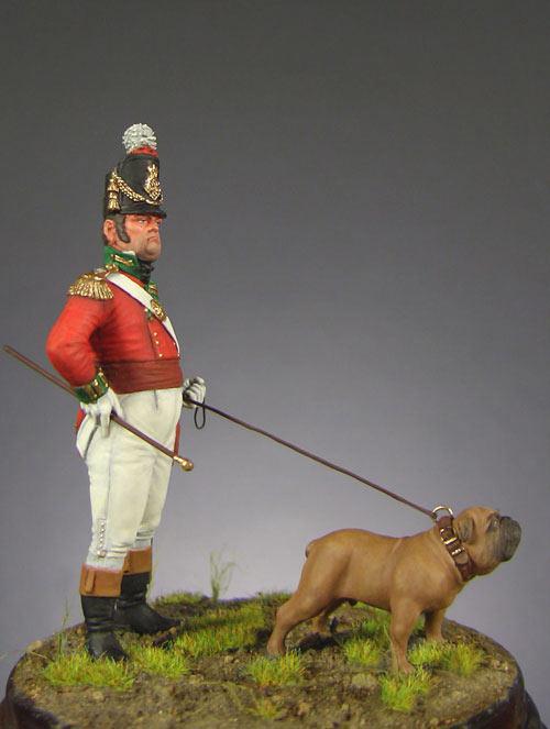 Фигурки: Офицер полка тяжёлой пехоты (Англия, 1809 г.), фото #1
