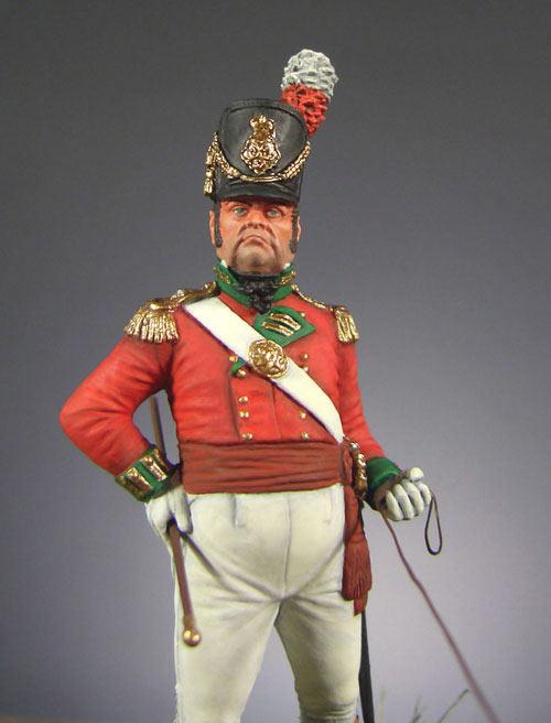 Фигурки: Офицер полка тяжёлой пехоты (Англия, 1809 г.), фото #2