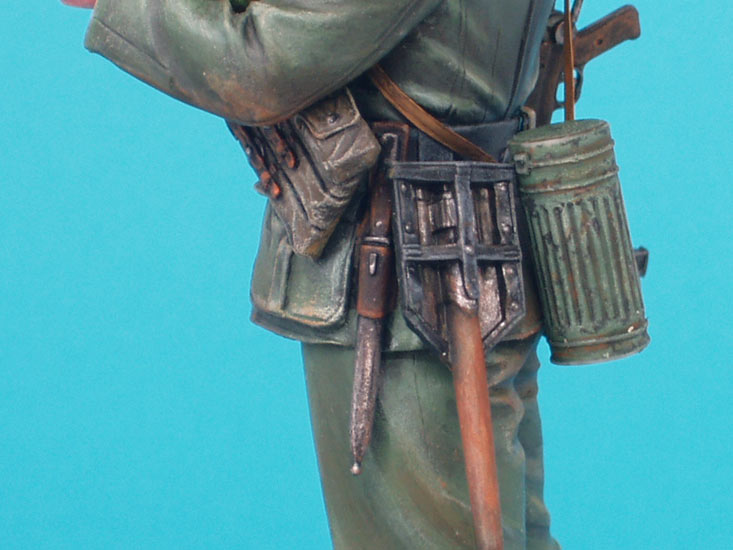 Фигурки: Немецкий солдат с подсолнухом, фото #10