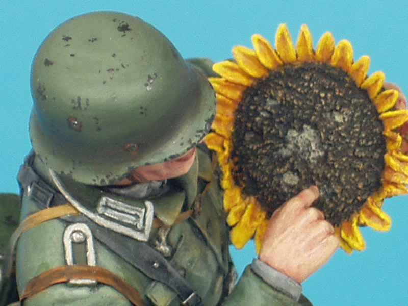 Фигурки: Немецкий солдат с подсолнухом, фото #13