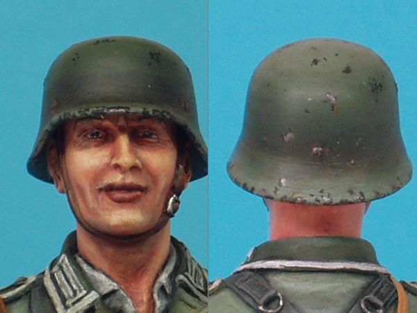 Фигурки: Немецкий солдат с подсолнухом, фото #7