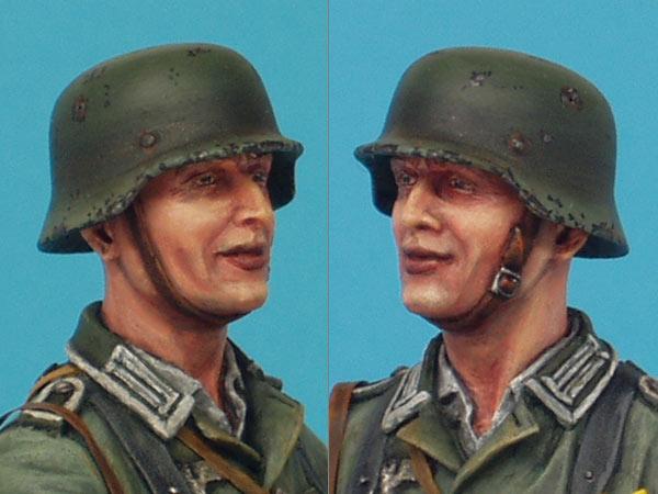 Фигурки: Немецкий солдат с подсолнухом, фото #8