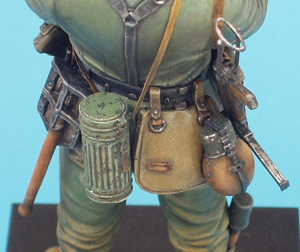 Фигурки: Немецкий солдат с подсолнухом, фото #9