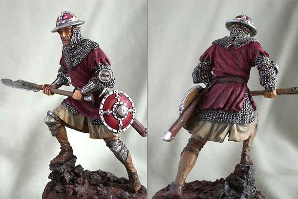 Фигурки: Пехотинец. Западная Европа, XIV-XV вв.