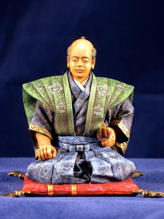 Фигурки: Самурай, стоящий на коленях, фото #3