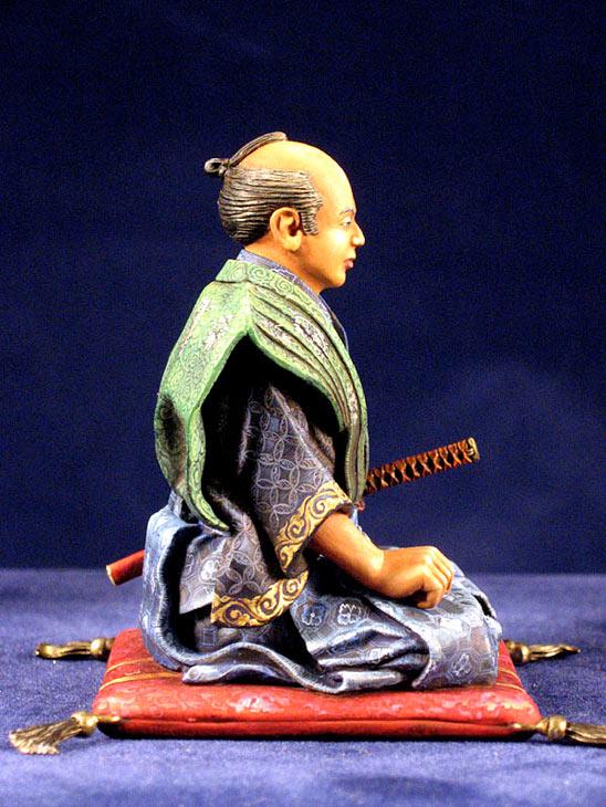 Фигурки: Самурай, стоящий на коленях, фото #4