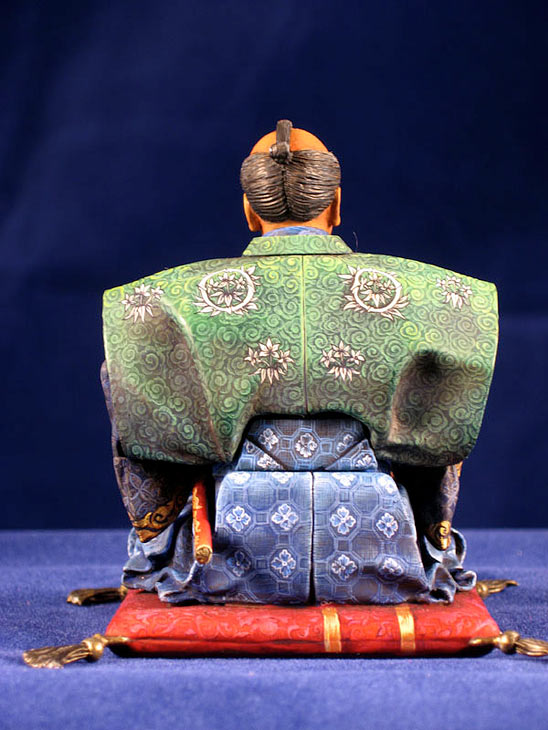 Фигурки: Самурай, стоящий на коленях, фото #5