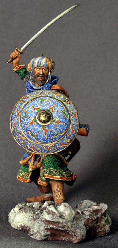 Фигурки: Воин-сарацин, XI-XIV вв., фото #2